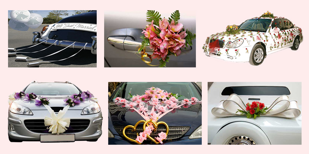 Unique Affordable Attractive Wedding Car Decoration Ideas Srkpro